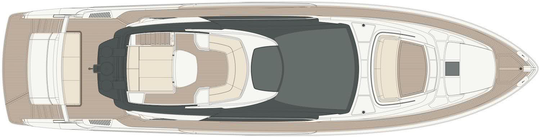 Riva 76 Perseo Motor Yacht Layout