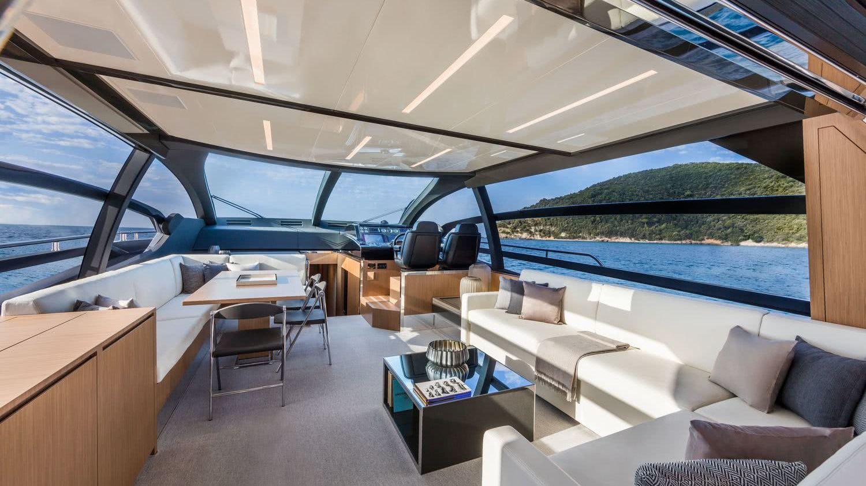 Riva 76 Perseo Motor Yacht Interior