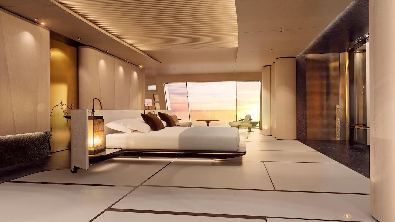Tuhura Motor Yacht Oceanco Interior Design Achille Salvagni