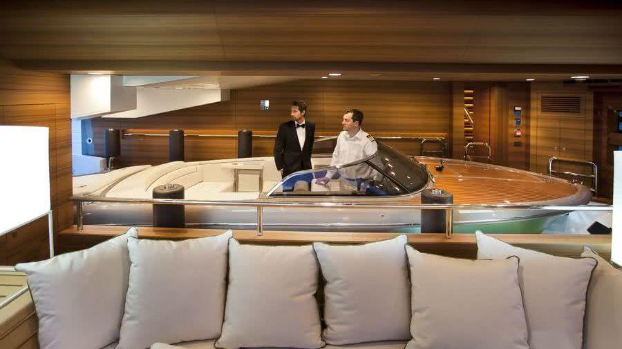 Floating Tender Garage J'ade Yacht