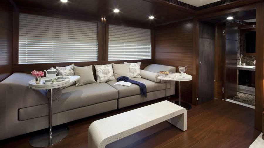 Jade Yacht Interior