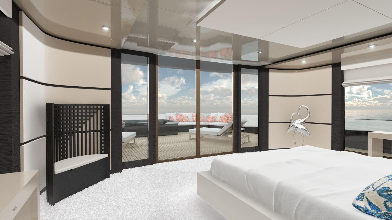 Apeiron Yacht Ridman Studio Interior Design