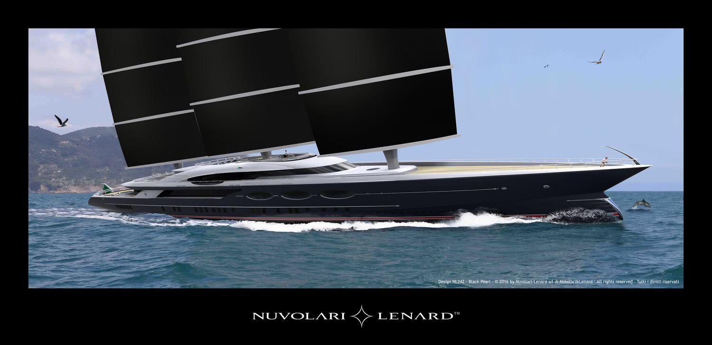 Sailing Yacht Black Pearl Oceanco