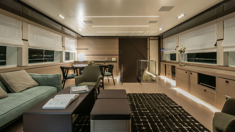 Hymhä Motor Yacht Nauta Air 111 Interior