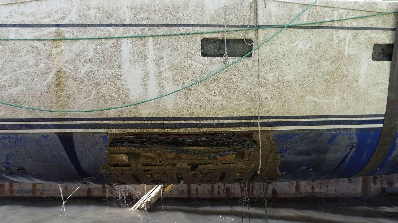 Polina Star III Sailing Yacht Keel Loss