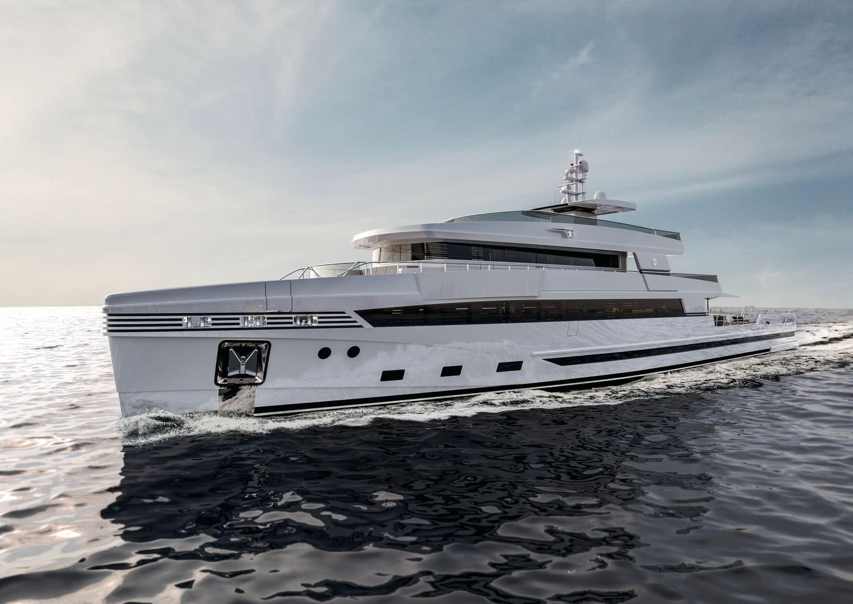 Rosetti Superyachts 48m Support Vessel
