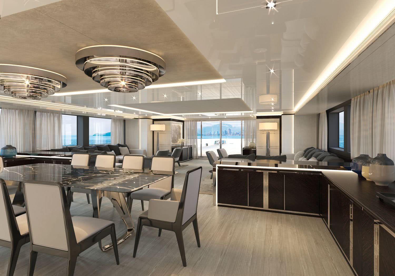 Rosetti Superyachts 48m Support Vessel Interior Design