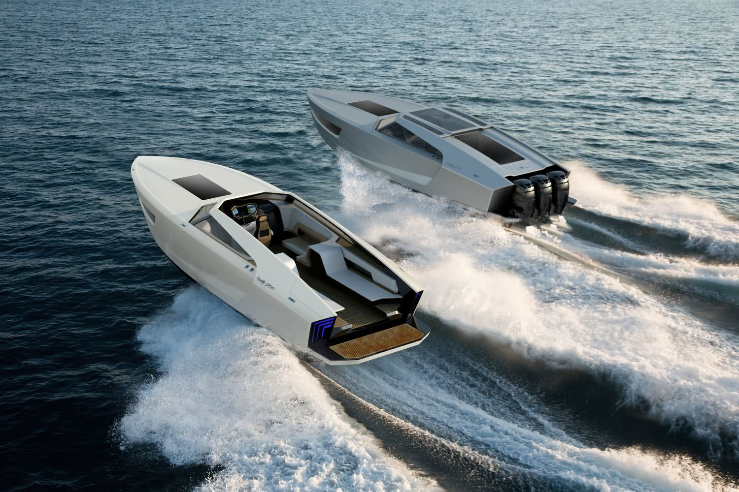 Superfly GTO 42 Motor Yacht Red Yacht Design