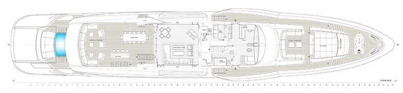 Motor Yacht Utopia IV Layout