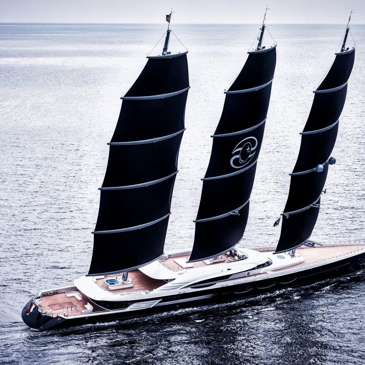 Black Pearl Sailing Yacht Oceanco