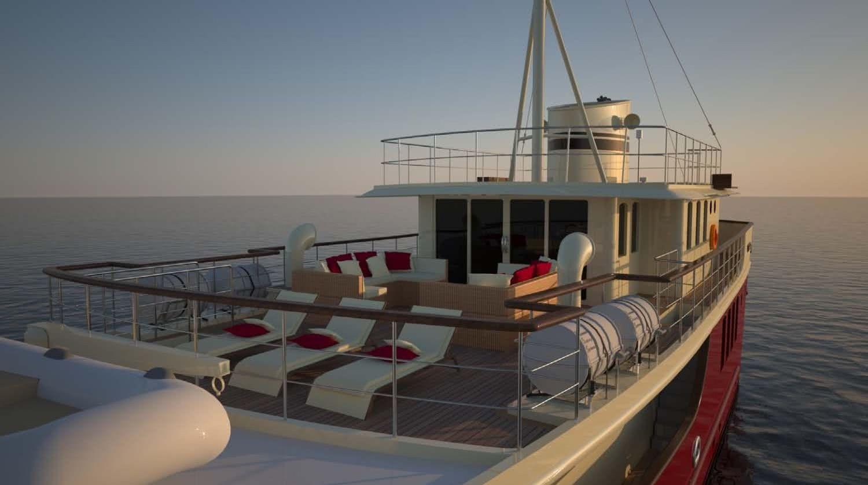 Blue Safari Classic Motor Yacht