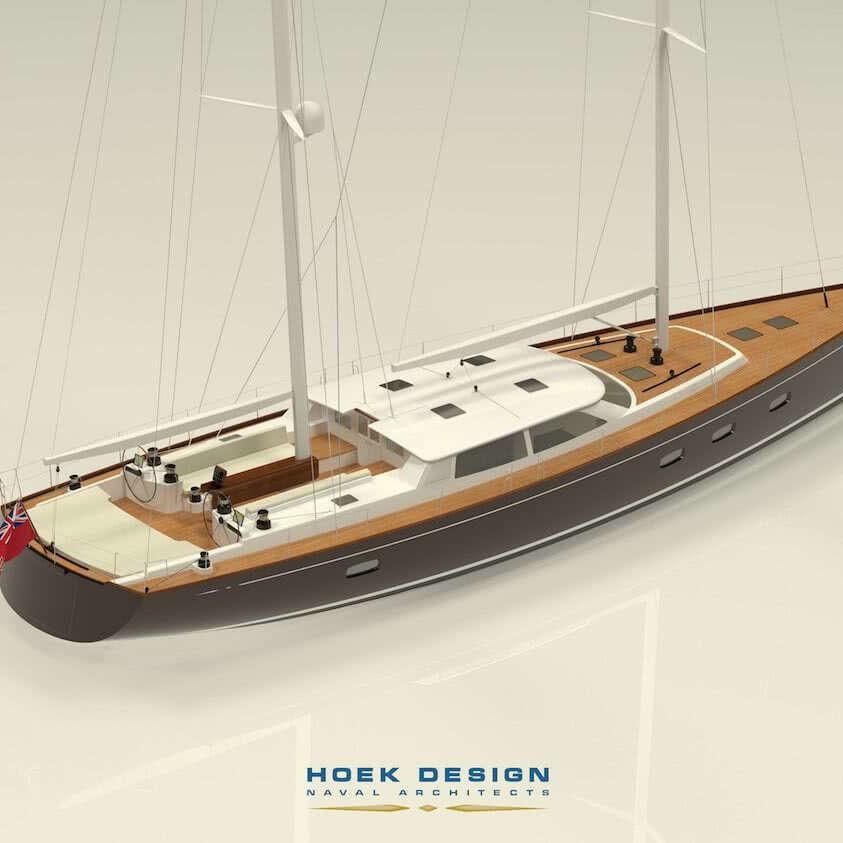 Hoek Design 76ft ketch