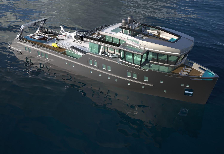 Ida Pfeiffer 70m Explorer Yacht Gill Schmid Design
