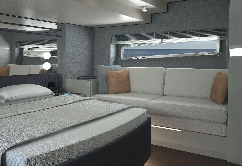 Phoenix S50 Motor Yacht Interior