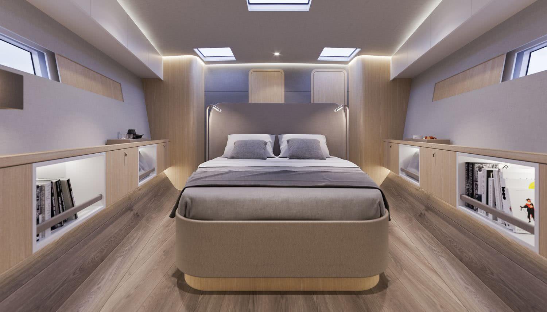 Y7 Tripp 70 Y Yachts Sailing Yacht Interior Owner