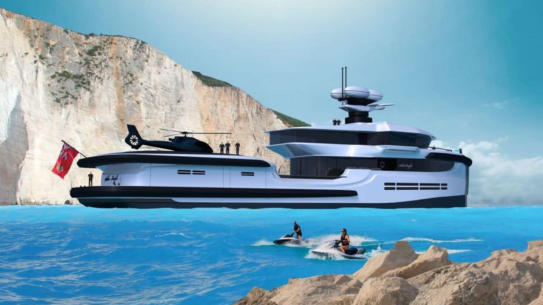 65m Motor Yacht Explorer Helipad Nedship Motor Yacht