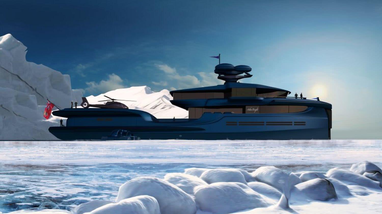 65m Motor Yacht Explorer Skysail