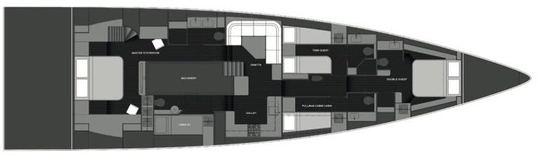 Yx7 Explorer Sailing Yacht Y Yachts Layout