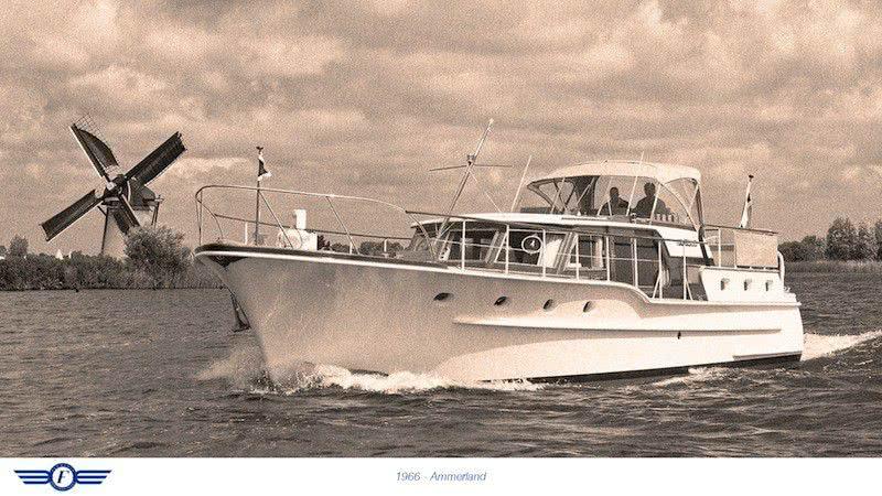 Motor Yacht Ammerland Feadship 1966