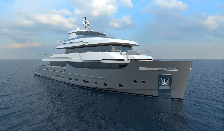 40m Explorer Yacht Design