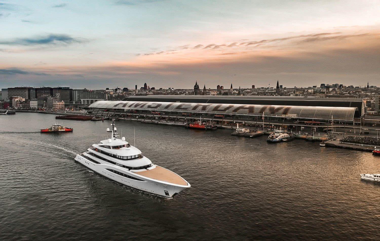 Motor Yacht Faith Amsterdam