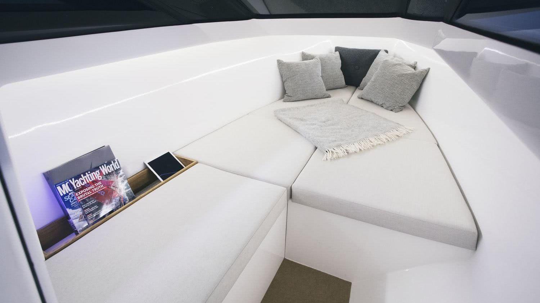 Full-Electric Boat Q30 Interior