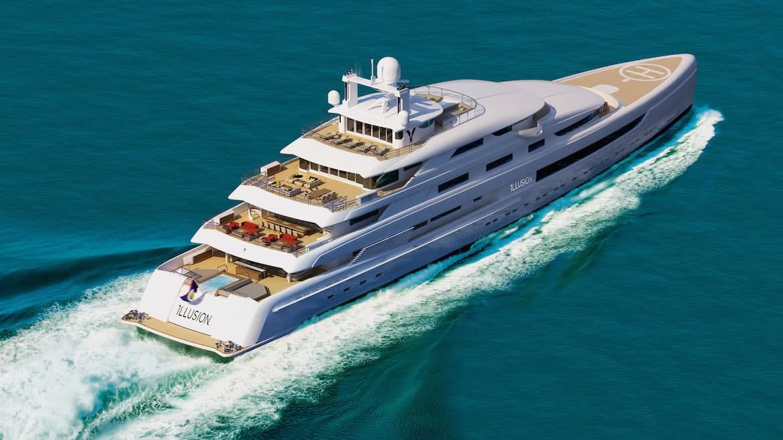 Illusion Plus Motor Yacht