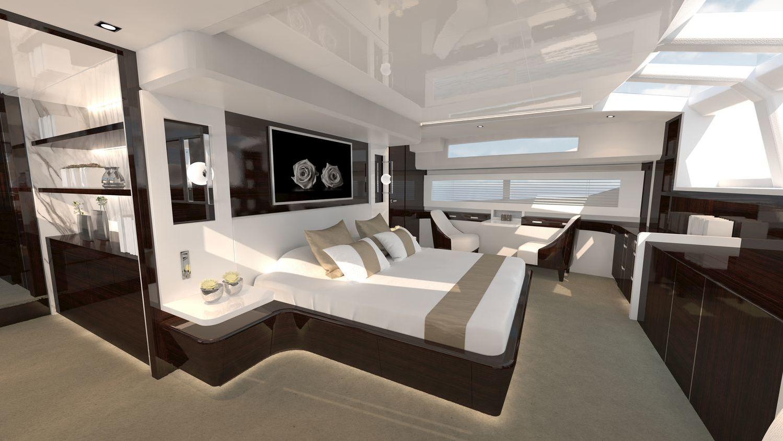 Motor Yacht Pearl 95 Interior