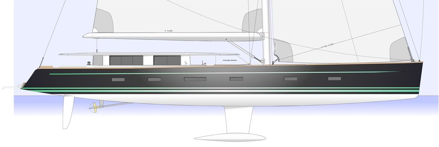 Sailing Yacht with Wheelchair Access beiderbeck designs