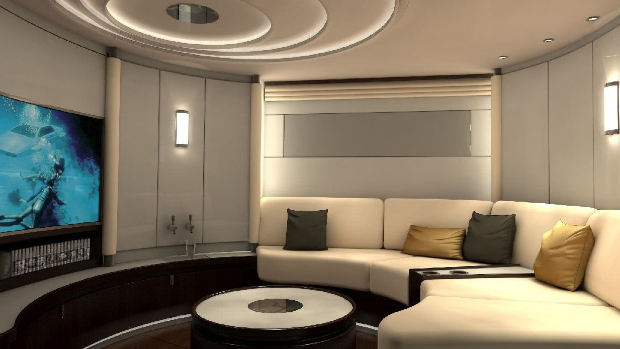 Sailing Yacht bd120 Interior beiderbeck designs