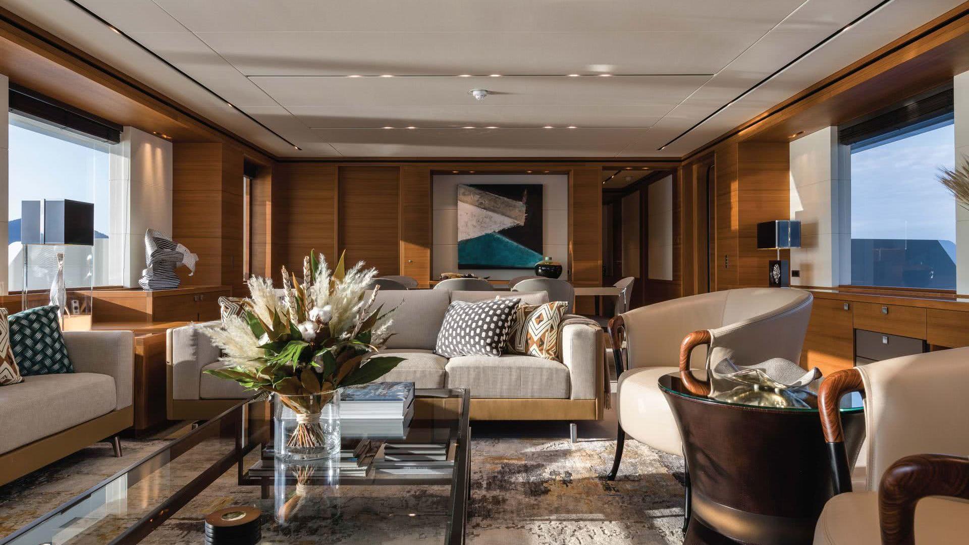 Motor Yacht Brigadoon Moonen Yachts Interior
