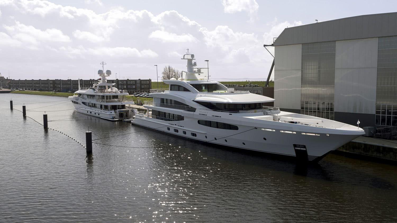 Hybrid Motor Yacht VOLPINI 2 Amels 188