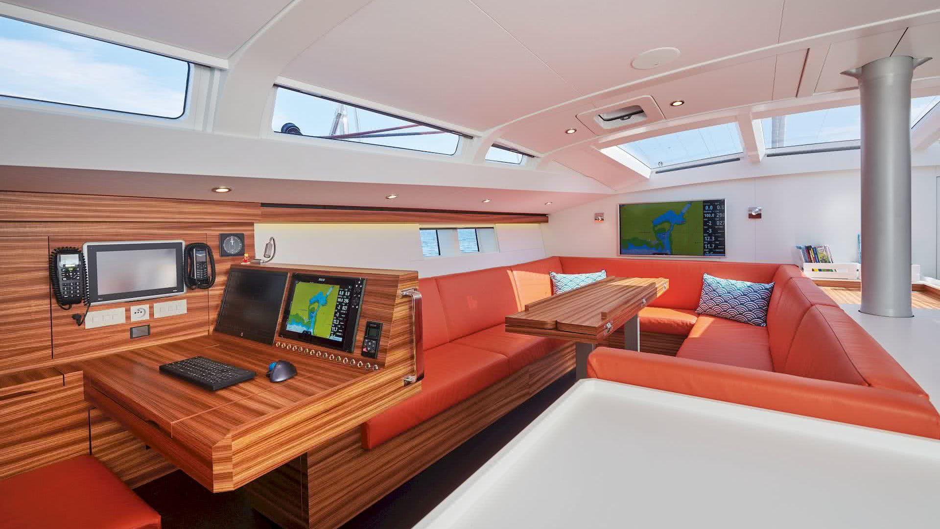 BASYC Yacht Interior