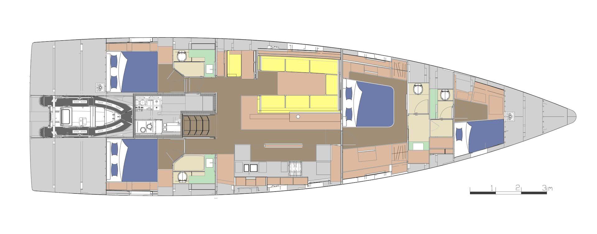 BASYC Yacht Layout