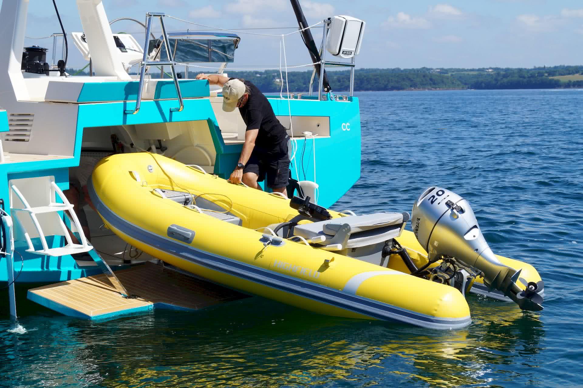 BASYC Yacht Tender Garage