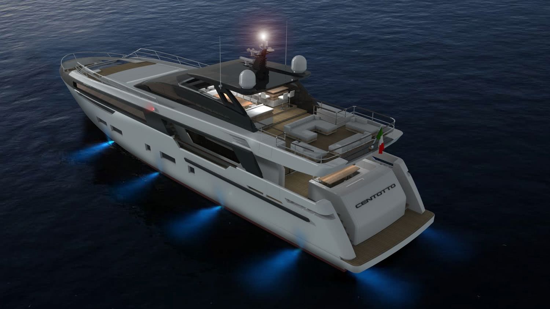 Motor Yacht Design CENTOTTO Yankee Delta Studio