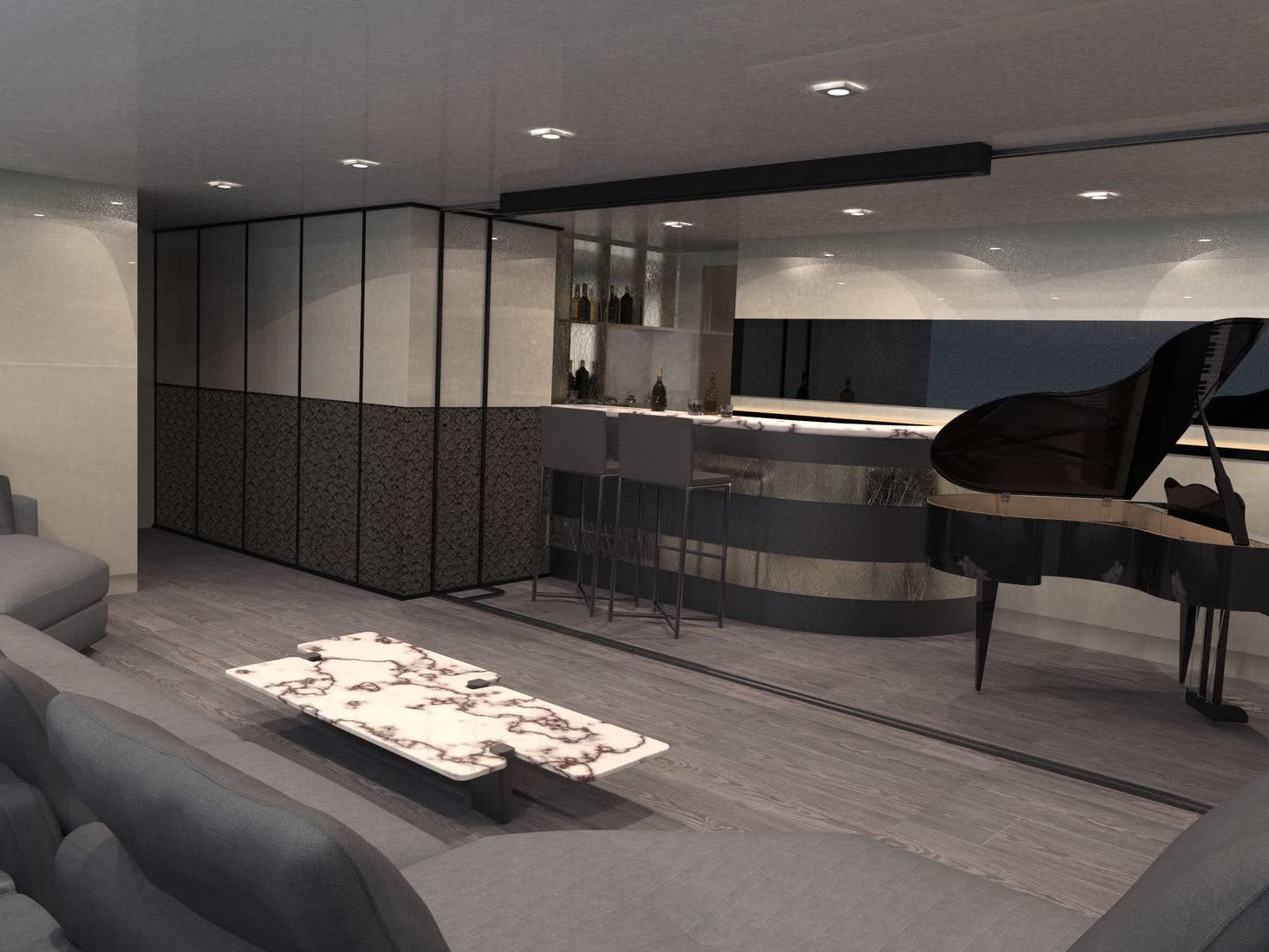 Galana Nicolo Piredda Yacht Design Interior