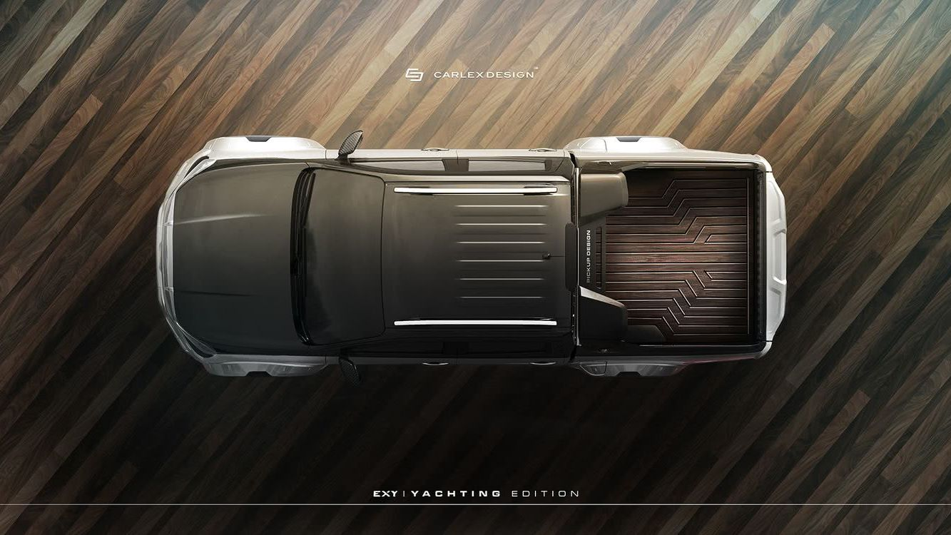 Mercedes X-Class Yachting Carlex Design