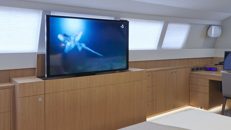 NDS Evolution Sailing Yacht jFA Yachts Interior