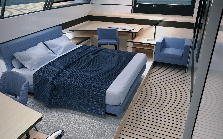 Sailing Yacht Nami 78 Interior Nicolo Piredda