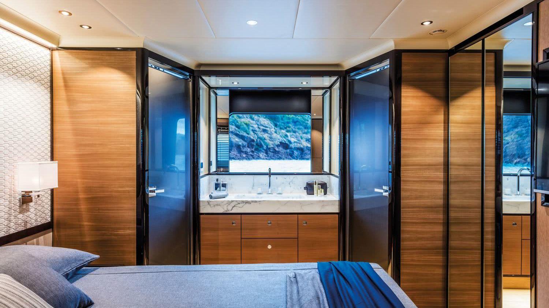 Navetta 73 Luxury Motor Yacht Interior