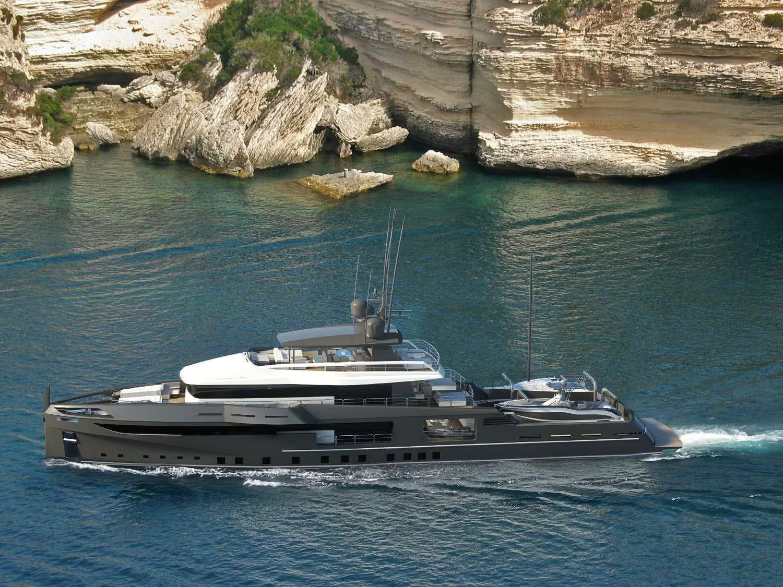 Ocea Nemo 50 Ice Class Explorer Yacht Design