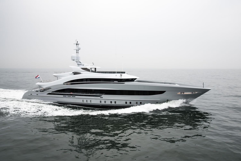 Motor Yacht Omaha Heesen Yachts