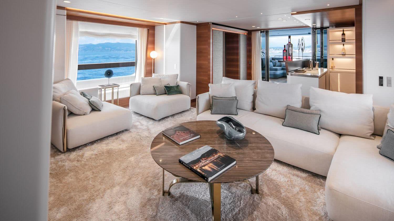 Silver Fox Motor Yacht Baglietto 48m T-Line Interior