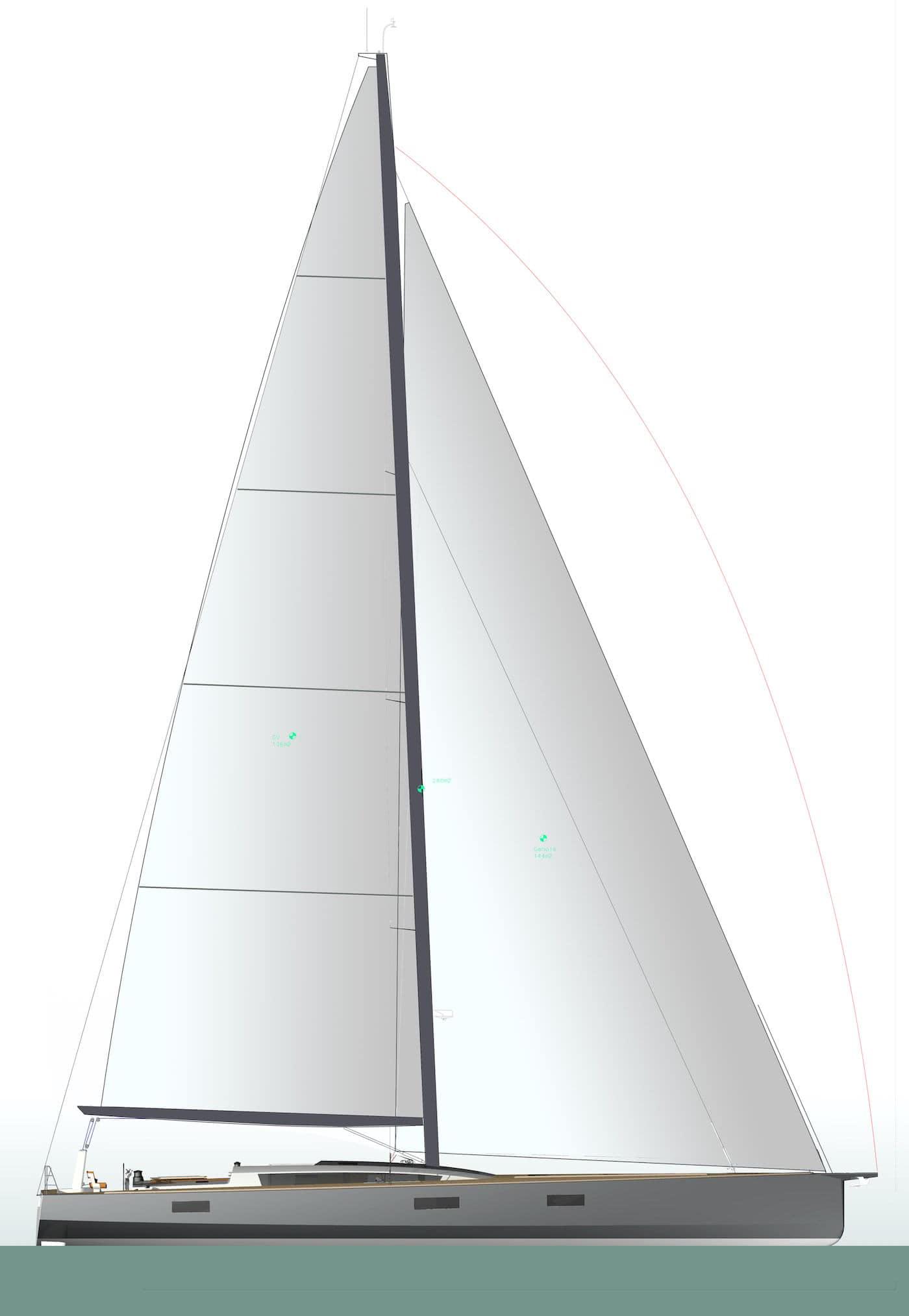 Sailing Yacht BASY JFA Yachts