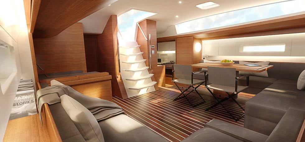 Baltic 67 Performance Cruiser Sailing Yacht Interior