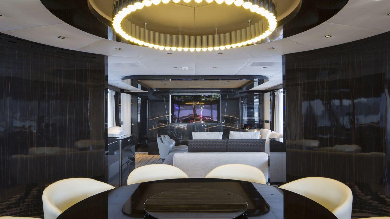 Dynamiq GTT 115 Porsche Design Motor Yacht Interior