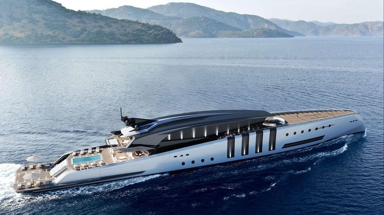 Eleuthera De Azcarate Design 100m Motor Yacht