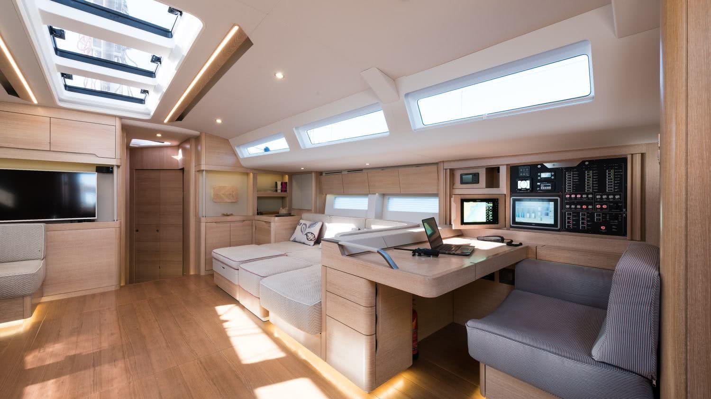 Euphoria 68 Interior Sailing Yacht Design Unlimited