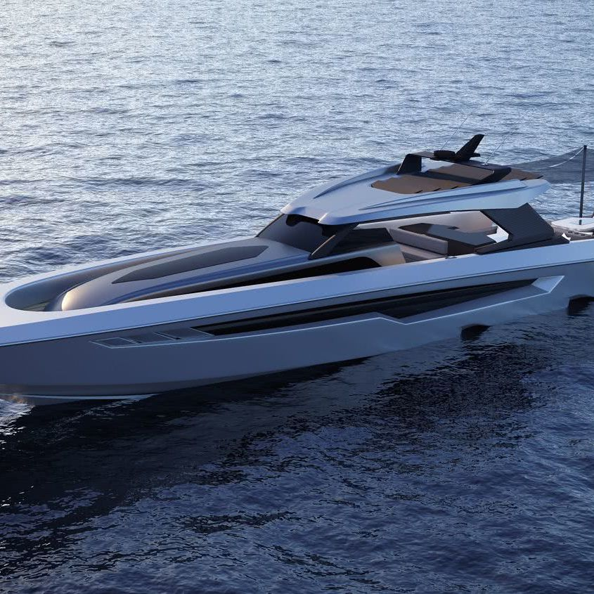 G2 Sixty SFG Yacht Design Center Console Boat